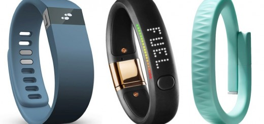 Fitbit vs Nike Fuelband vs Jawbone UP