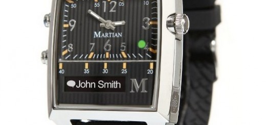 Martian Passport Smart Watch black silver black