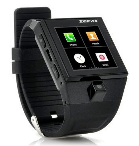 ZGPAX GSM SmartWatch phone Black