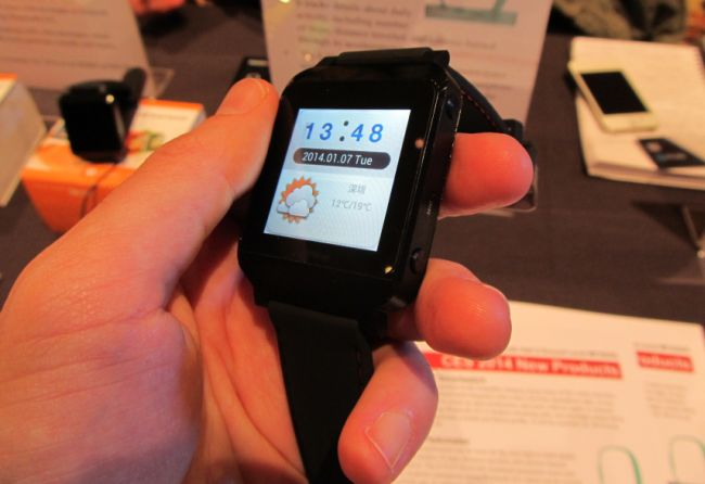 nextOne smart watch at CES 2014