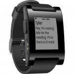 Pebble Smart Watch Black