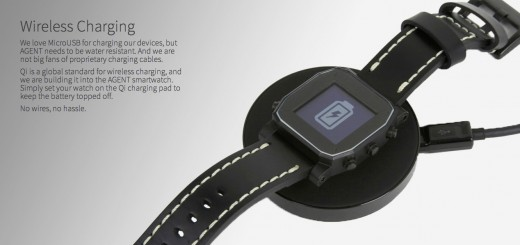 AGENT smart watch wireless charging