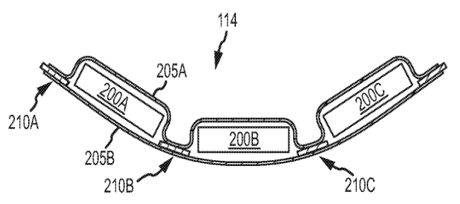 apple iwatch will use stepped batteries  curved shape