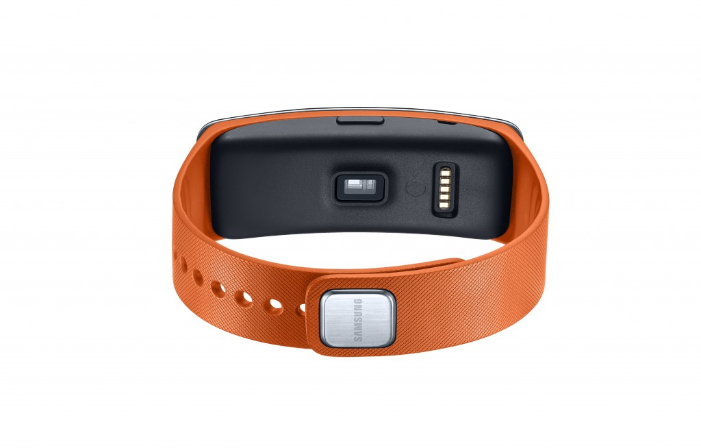 Gear Fit heart monitor sensor