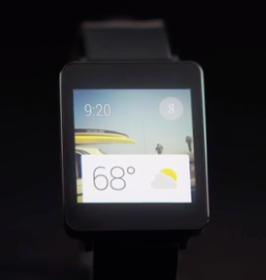 Android Wear Google Smart Watch concept