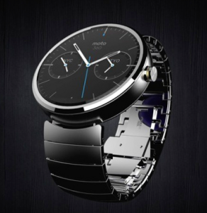 The new Moto 360 Smart Watch