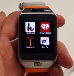 Samsung Gear 2 - branded apps