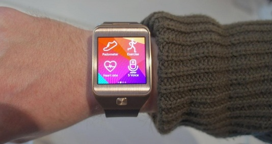 Samsung Gear 2 Fitness Apps