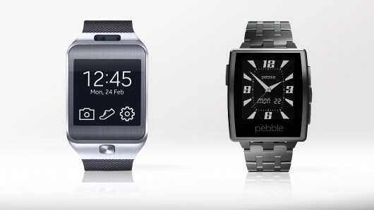 Samsung Gear 2 vs Pebble Steel