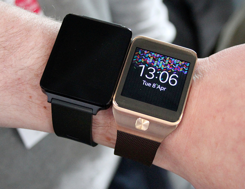 LG G Watch vs Samsung Gear
