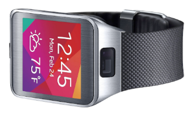 Samsung Gear 2 Smart Watch Black camera position