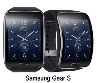 Samsung Gear S with title