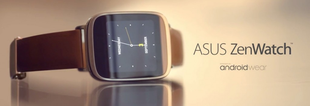 Asus Zenwatch on side