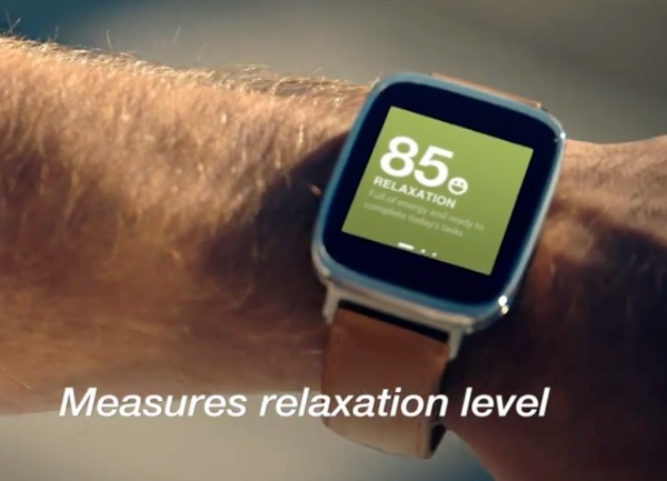 Asus Zenwatch relaxation monitor