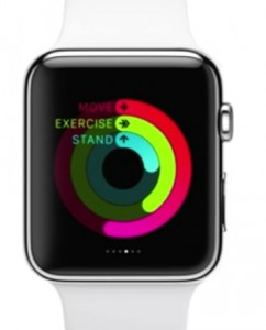 apple wach - move exercise stand rings